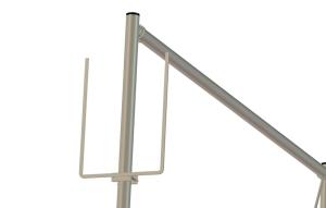 Skylthållare A4 gavel
